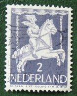 2 + 2 Ct Kinderzegel Child Welfare Kinder Enfant NVPH 469 (Mi 472) 1946 Gestempeld / Used NEDERLAND / NIEDERLANDE - 1891-1948 (Wilhelmine)