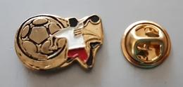 Handball Federation Or Mascot? Pin Badge - Balonmano