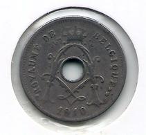 ALBERT I * 5 Cent 1910 Frans * Nr 9923 - 1909-1934: Albert I