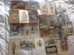 Lot De 26 Cartes Cochon Et Divers, LAT - Cartes Postales
