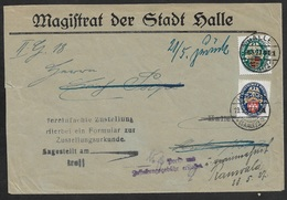 1927 - Dt.Reich - Mi. 398/400 -  ZURÜCK -  PORTO & ZUSTELLUNGSGEBÜHR ERSTATTET - Selten - Briefe U. Dokumente