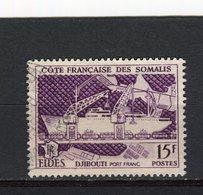 COTE DE SOMALIS - Y&T N° 285° - F.I.D.E.S. - Port Franc De Djibouti - Côte Française Des Somalis (1894-1967)