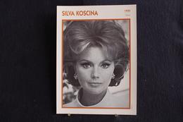 Sp-Actrice, Italienne - 1955 - Sylva Koscina, Née En 1933 à Zagreb En Croatie  Morte En 1994 à Rome,  Italie - Acteurs