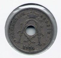 ALBERT I * 10 Cent 1924 Vlaams * Nr 9928 - 1909-1934: Albert I