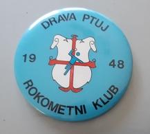 Handball Club RK Drava Ptuj Slovenia Pin Badge - Balonmano