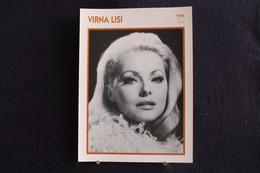 Sp-Actrice, Italienne - 1955 -  Virna Lisi, Née En 1936 à Ancône - Morte Le 18 Décembre 2014 à Rome. - Acteurs