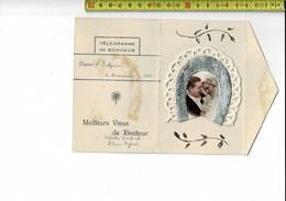 51821 - TELEGRAMME DE BONHEUR - DOTTIGNIES 1945 - MEILLEURS VOEUX DE BONHEUR - Stamped Stationery
