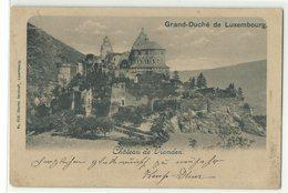 Vianden Chateau 1901 - Vianden