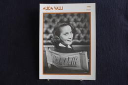 Sp-Actrice, Italienne - 1950 - D'Alida Valli, Née En 1921 à Pola, En Istrie (Croatie) , Morte En 2006 à Rome - Acteurs