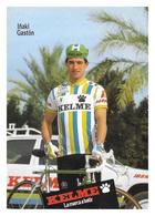 CARTE CYCLISME IÑAKI GASTON TEAM KELME 1988 - Cyclisme