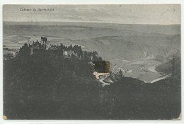 Burscheid Chateau De Bourscheid 1924 Nach Belgien Schöne Frankatur! - Burscheid