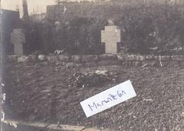 Foto Grab Friedhof IR130 Armierungs Batl. 156 Fussartillerie Ers. Abt. V A 1.Weltkrieg Ww1 14-18 German Soldier - Krieg, Militär