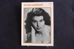 Sp-Actrice, Italienne - 1950 - Silvana Mangano  Née En1930 à Rome Et Morte  En  1989 à Madrid. - Acteurs