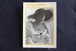 Sp-Actrice, Italienne - 1915 - Francesca Bertini (Florence,1892 - Rome,1985)  Actrice Cinématographique Du Cinéma Muet. - Acteurs