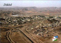 1 AK Djibouti * Blick Auf Dikhil - Eine Stadt Im Süden Dschibutis - Luftbildaufnahme * - Dschibuti
