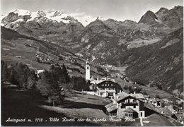 Valle D' Aosta - Antagnod - Ville Rivetti E Monte Rosa - Fg Vg - Altre Città
