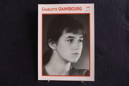 Sp-Actrice,Française -1990 -     Charlotte Gainsbourg, Née En 1971 à Londres (Royaume-Uni), Est Une Actrice Et Chanteuse - Acteurs
