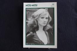 Sp-Actrice,Française - 1980 - Sylvette Herry, Dite Miou-Miou, Née Le 22 Février 1950 à Paris - Acteurs