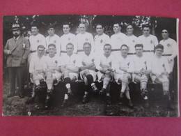 Carte Photo équipe De Rugby à XIII Catalan 1929-1930 - Perpignan