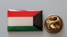 Kuwait Flag Coat Of Arms Pin - Balonmano