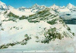 Valle D' Aosta - Cervinia Beuil - Rifugio Del Teodulo - Campi Da Sci - Fg ( Tracce Di Umidità Al Retro ) - Altre Città