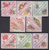 REP. FED. CAMEROUN - Fleurs - 1963 - Serie Compléte MNH - Camerun (1960-...)