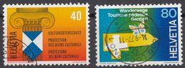 HELVETIA - SUISSE - SVIZZERA - 1964 - Lotto Di 2 Valori Usati: Yvert 1031/1032. - Usati