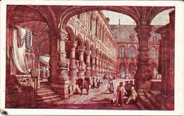 LIEGE - Palais Des Princes Evêques En 1833 - Oblitération De 1933 - Liege
