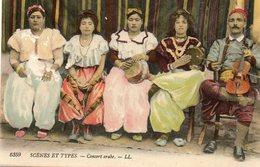 Concert Arabe - Scènes & Types