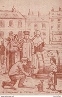 Liège 1914-1918 - Illustration - Le Marchand De Pétrole - 2 Scans - Marchands Ambulants