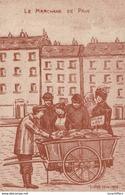 Liège 1914-1918 - Illustration - Le Marchand De Pain - 2 Scans - Marchands Ambulants