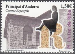 Andorra Español 2019 Lluïsa De Riba Neuf ** - Neufs