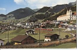 1972 Disentis Gegen Caischavedra -   Panorama - GR Grisons