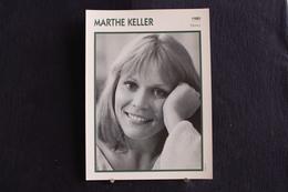 Sp-Actrice, Suisse - 1980 -  Marthe Keller Est Une Actrice Et Metteuse En Scène Suisse Née Le 28 Janvier 1945 à Bâle. - Acteurs