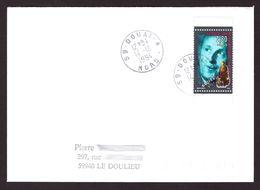 FRANCE '59 DOUAI A' 1994  1 OBLITERATION - Marcophilie (Lettres)