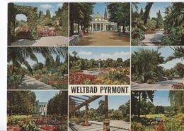 Erlebnisbad Pyrmonter Welle In Bad Pyrmont - 9 Photo's On Card - Weltbad - - Autres