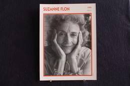 Sp-Actrice, Française - 1990 -Suzanne Flon, Née En 1918 Au Kremlin-Bicêtre Et Morte En 2005 à Paris, - Acteurs