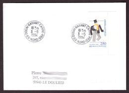 FRANCE '59 DOUAI GAYANT CARRE PRO' 1994  1 OBLITERATION - Marcophilie (Lettres)