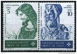 PIA - SMOM - 1967 : San Giovanni Battista Ed I Grandi Pittori  - (UN 19-22) - Malte (Ordre De)
