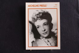 Sp-Actrice,Française-1935 -  Micheline Chassagne, Dite Micheline Presle, Née Le 22 Août 1922 à Paris - Acteurs