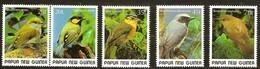 Papouasie Papua New Guinea 1989 Yvert 591-595 *** MNH Cote 8,50 Euro Faune Oiseaux Vogels Birds - Papua-Neuguinea