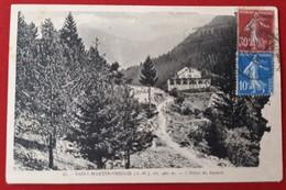 SAINT MARTIN VESUBIE   Hotel Du BOREON   (etat Voir Scan) - Saint-Martin-Vésubie