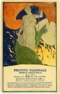 PRESTITO NAZIONALE Rendita Consolidata  Italia Turrita  Tricolore Italiano  Fiamma Redente - Patriottiche