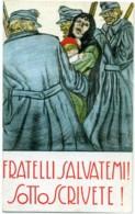 FRATELLI SALVATEMI! SOTTOSCRIVETE!  Prestito Nazionale  Donna Con Bimbo Rapita Dal Nemico  Sign Bonzagni - Patriottisch