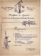 1923 - Baden Powell Belgian Boy Scouts - Programme Manifestation De Sympathie - Voir Scan - Scoutisme