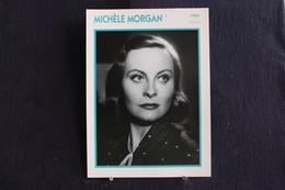 Sp-Actrice,Française-1960 -  Michèle Morgan, Née En 1920 à Neuilly-sur-Seine -  Morte En 2016 Dans La Même Ville. - Acteurs