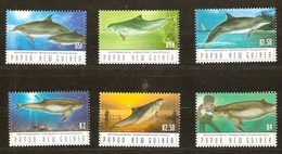 Papouasie Papua New Guinea 2003 Yvertn° 957-962 *** MNH Cote 11,50 Euro Faune Marine Dauphins - Papouasie-Nouvelle-Guinée