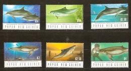 Papouasie Papua New Guinea 2003 Yvertn° 957-962 *** MNH Cote 11,50 Euro Faune Marine Dauphins - Papua-Neuguinea