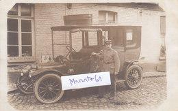 59 Douai Nord Auto PKW Limousine Offizier Feldpost Margonin 1.Weltkrieg Ww1 14-18 German Soldier - Douai
