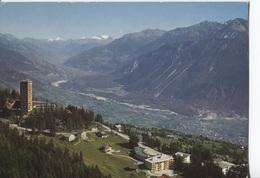 1988 Montana Vermala Sur Sierre - Toren Tour De Supercrans Et Plain Du Rhone En Direction De Brigue - Panorama - VS Valais